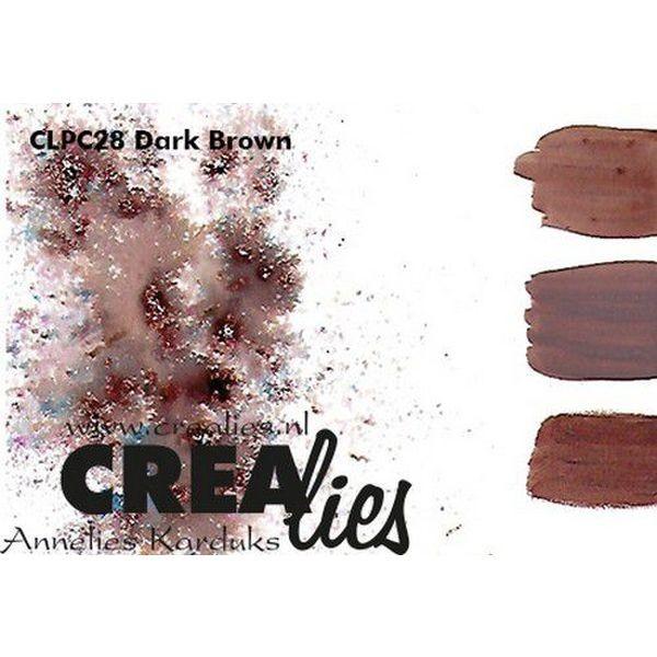 Crealies Pigment Colorzz Dark Brown