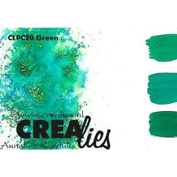 Crealies Pigment Colorzz Green