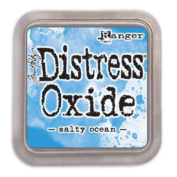 Tim Holtz Distress Oxide Pad Salty Ocean