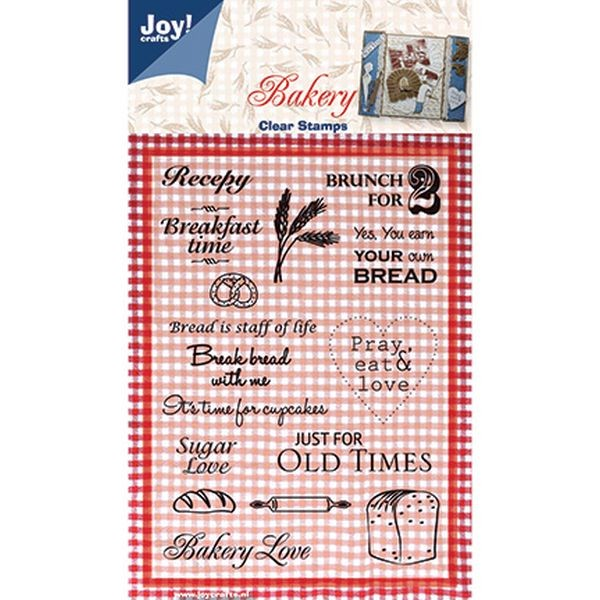 Joy! Crafts Clear Stamps Recipe