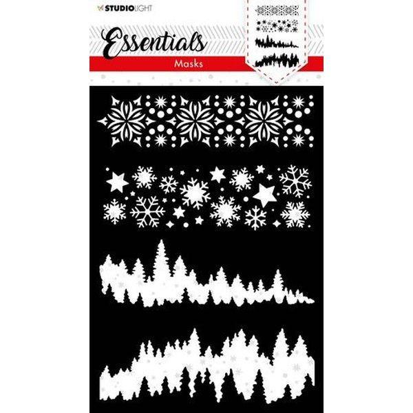 Studio Light Christmas Essentials Stencil No. 36