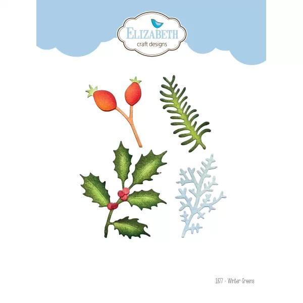Elisabeth Craft Designs Die Winter Greens
