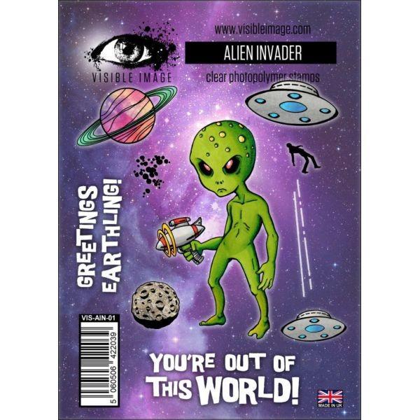 Visible Image Alien Invader