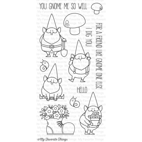 MFT Clearstamps You Gnome Me