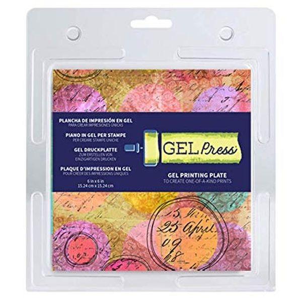 Gel Press Gel Plate 6x6