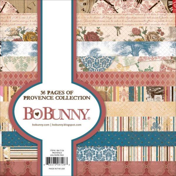 BoBunny Press Provence Paper Pad 6x6
