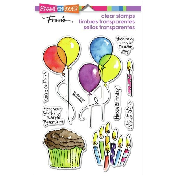 Stampendous Fran´s Clearstamps Balloons & More