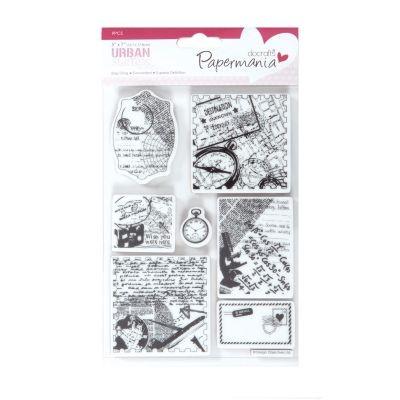 Papermania Bookprint Urban Stamps Travel Print