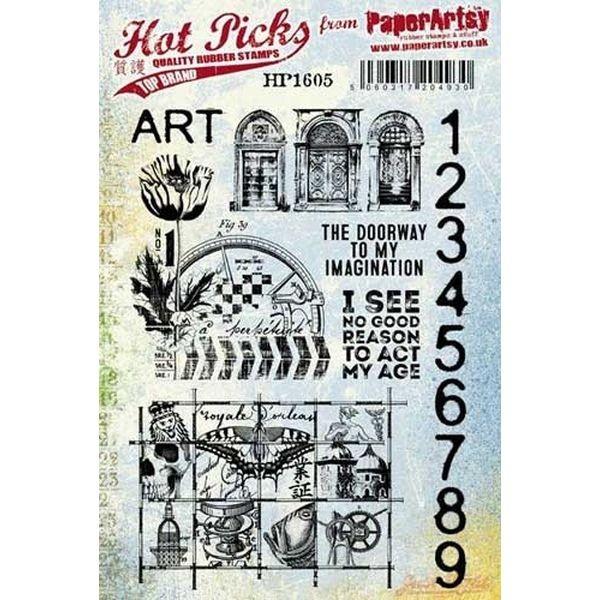 Paper Artsy Hot Pick 1605