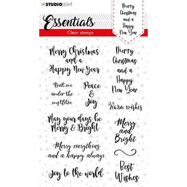 Studio Light Christmas Essentials Clearstamps A6 No. 88