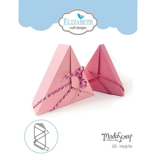 Elisabeth Craft Designs Die Triangle Box