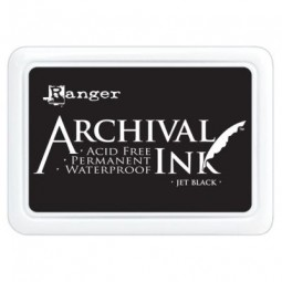 Ranger Archival Ink Pad Jet Black